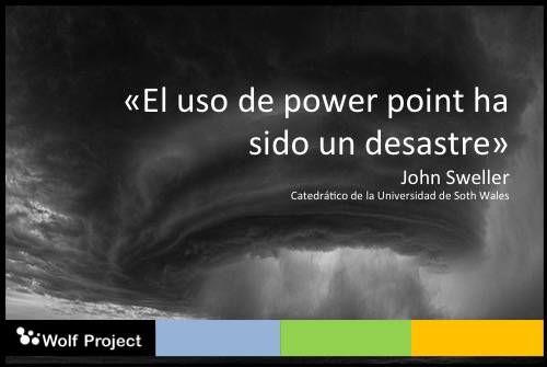 power point ha sido desastroso