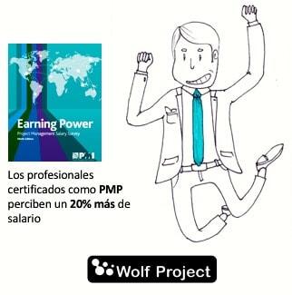 Buenas noticias para los PMP! Ganan un 20% más