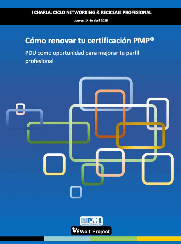 Como mantener tu certificacion pmp