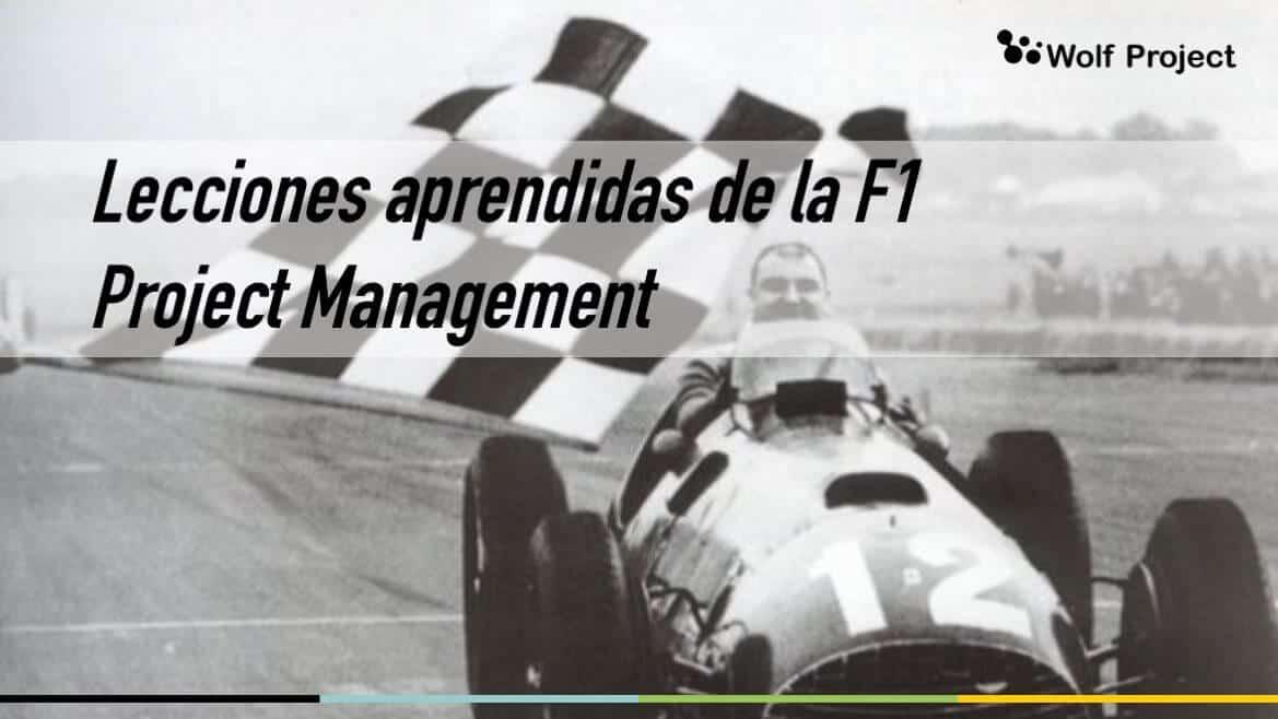 Tu proyecto con el rendimiento de la F1