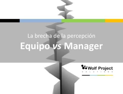 El gap entre el equipo y el manager
