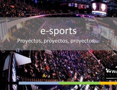 Los proyectos de los e-sports: te sorprenderán