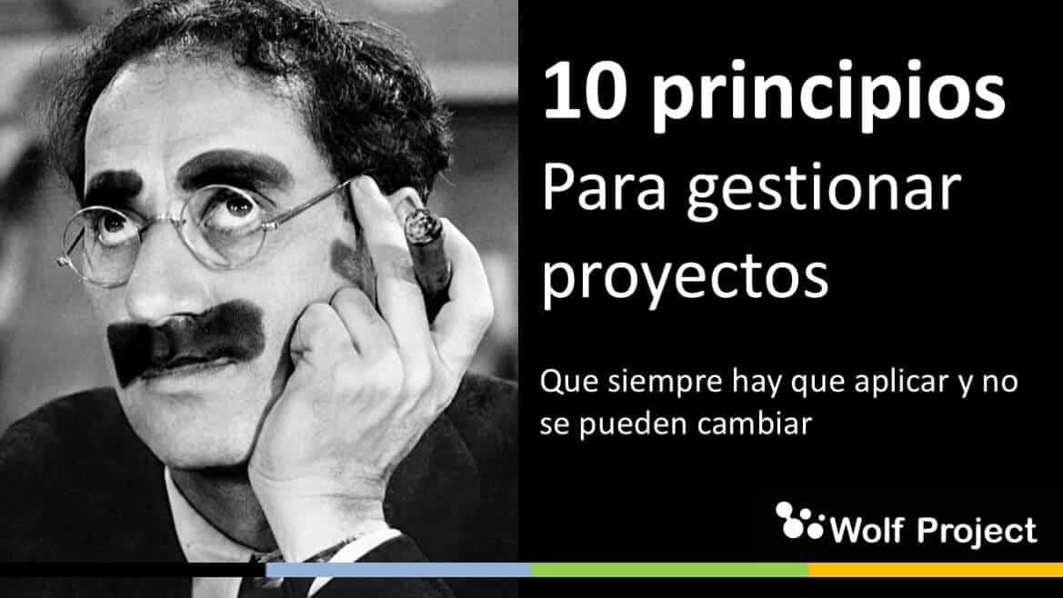 Los 10 principios para gestionar proyectos: obligatorios